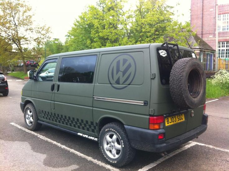 Show me your off road inspired vans - Page 27 - VW T4 Forum - VW T5 Forum