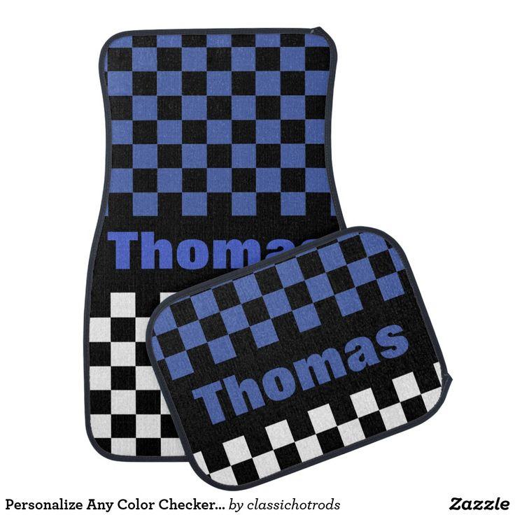 Checkered Mat: 394 Best Custom Automobile Floor Mats Images On Pinterest
