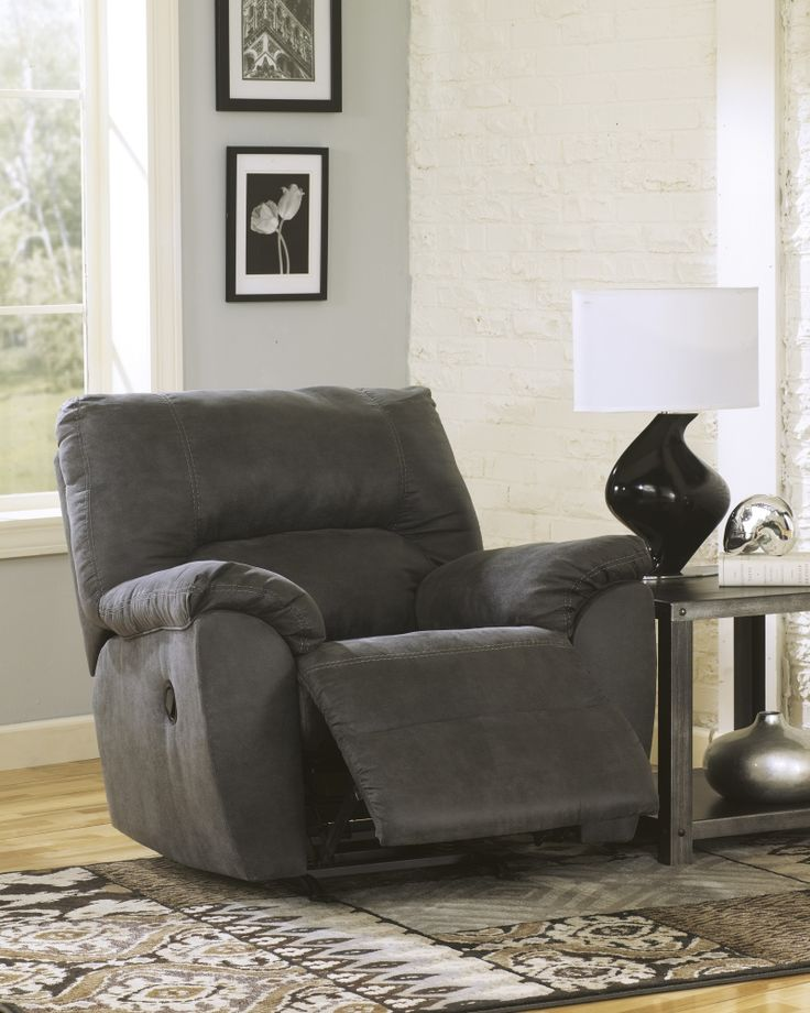 Tambo - Pewter - Rocker Recliner by Signature Design by Ashley. Get your Tambo - Pewter - Rocker Recliner at Home Furniture Wisconsin Rapids WI furniture ... & 174 best Living Room images on Pinterest | Sofas Furniture ... islam-shia.org