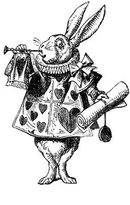 **FREE ViNTaGE DiGiTaL STaMPS**: Free Vintage Digital Stamp - Alice Rabbit
