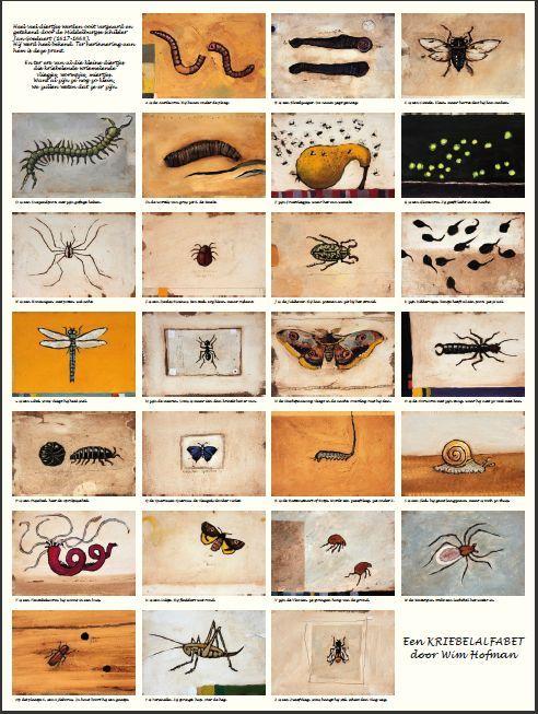 Zeeuws Knoopje: Kriebelalfabet & Metamorphosis Naturalis : Wim Hofman & Johannes Goedaert