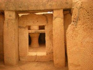 Dans le dédale mystérieux des temples d'Ħaġar Qim... #Malte