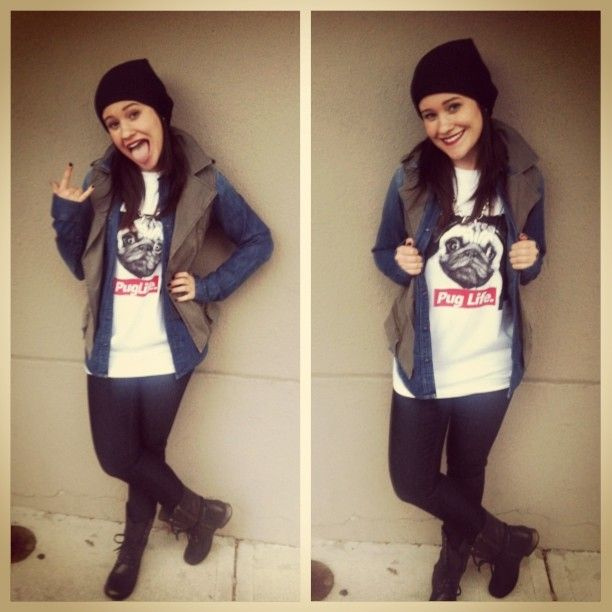 Trending Now: Grunge!! Create this look with a graphic t and lots of layers #grunge #layers #denimshirts