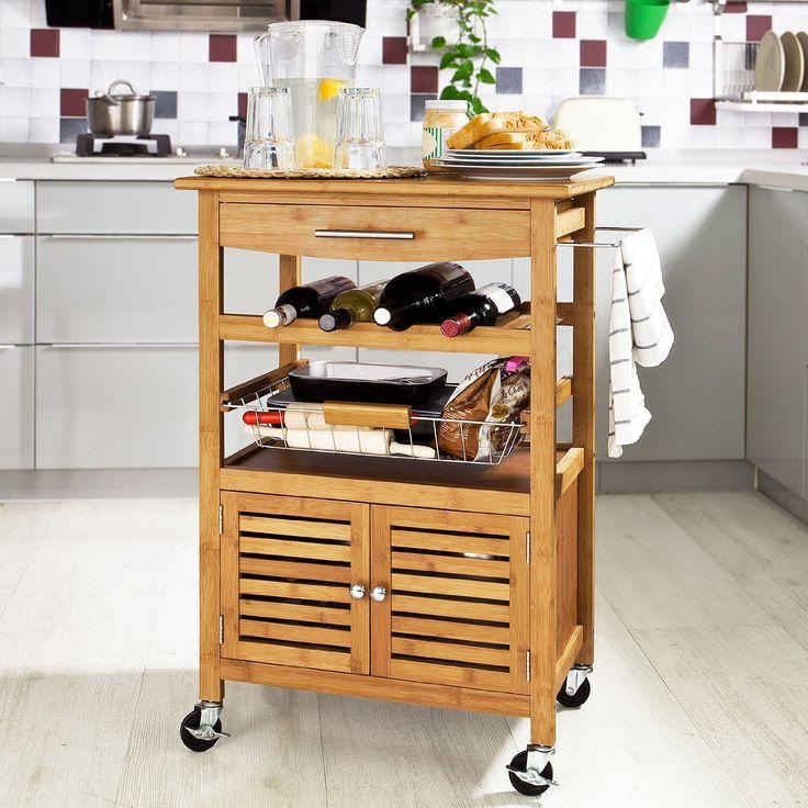 M s de 1000 ideas sobre carritos de cocina en pinterest - Carrito para cocina ...