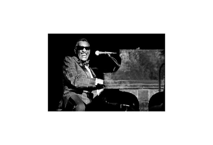 One Kings Lane - Behind the Lens - An iconic image of Ray Charles, shot by Richard E. Aaron.
