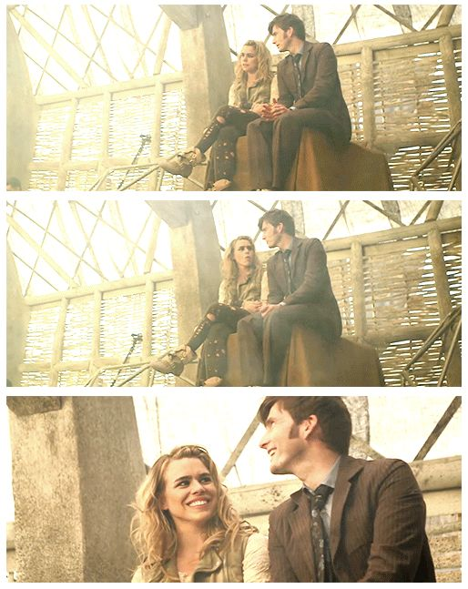 [DOCTOR WHO] Ten - The 10th Doctor & Rose Tyler / Bad Wolf ...