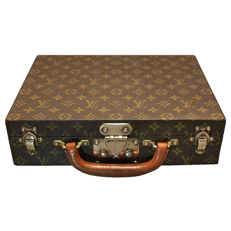 Rare Louis Vuitton Jewelry Box | From a unique collection of antique and modern jewelry boxes at https://www.1stdibs.com/furniture/more-furniture-collectibles/jewelry-boxes/