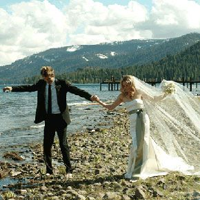 Christopher Jarecki and Alicia Silverstone at Their Wedding