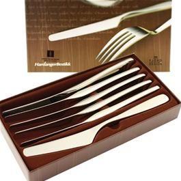 Hardanger Bestikk - Tuva spisekniver, 6 stk
