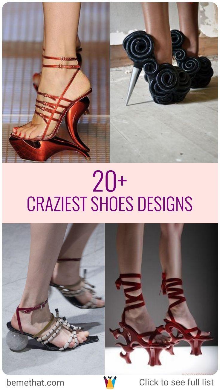 30 Weird shoes: crazy design, shapes and materials | Volganga