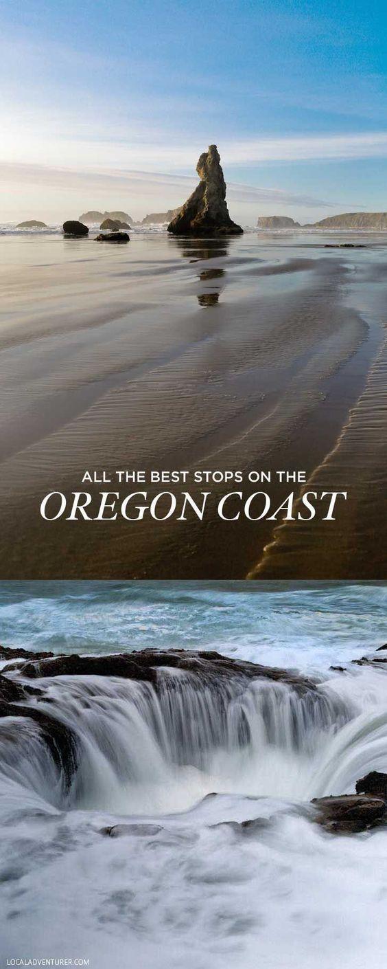 HWY 101 Oregon Coast Mile by mile