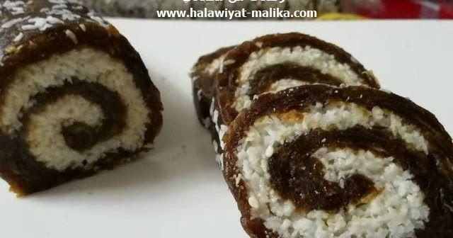 رولي التمر بجوز الهند ولا أسهل Easy Sweets Arabic Sweets Food