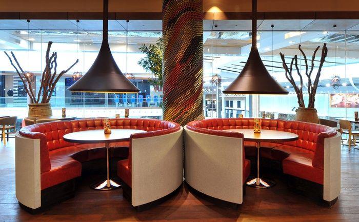 Round Booths Restaurant Design Pinterest Dining