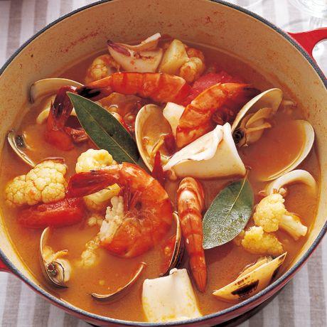 海鮮トマト鍋 | 李映林さんの鍋ものの料理レシピ | プロの簡単料理レシピはレタスクラブニュース