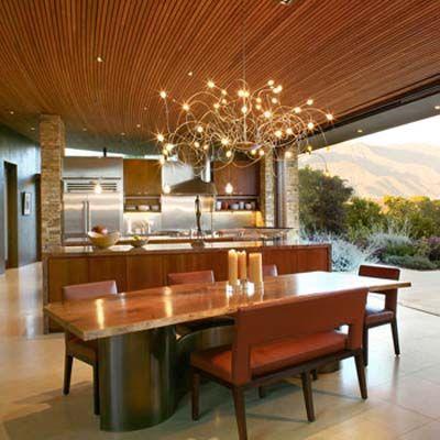 Best Indoor Outdoor And Wood Slab Dining Table Decoración De 640 x 480