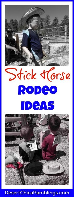 The Stick Horse Rodeo at Show Low days was a fabulously fun and free event in Arizona. Check out all the fun rodeo ideas perfect for a rodeo themed birthday!