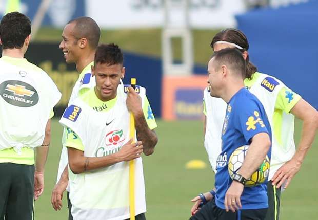 Neymar Willian and Douglas Costa in attack as Dunga reveals Brazil team to face Uruguay