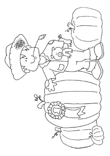 Découvre dans ce dessin gratuit un gentil fermier fier de sa gigantesque Citrouille. La paille à la bouche, lui et son cochon prennent leur meilleure pose pour la photo. Avant de paraitre dans la presse, il demande ton aide pour apporter beaucoup de couleur à cette image à imprimer. C'est à toi de jouer maintenant!