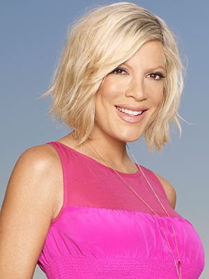 Tori Spelling - An actress best known for her role on Beverly Hills 90210. Daughter of the late Aaron Spelling, prolific TV producer in the 70s, 80s & 90s. Person with migraine.