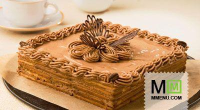 Торт «Кофе сшоколадом»