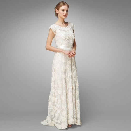 Luxury Wedding Dresses For Second Marriage Older Bride