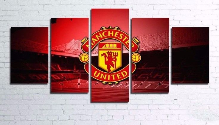 Manchester Football Soccer 5 pcs Painting Canvas Wall Art Poster Home Decorative in Home & Garden, Home Décor, Posters & Prints | eBay