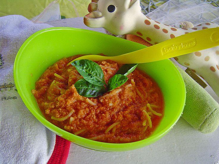 Spagetti Bolognese für Babys, ein schönes Rezept aus der Kategorie Schmoren. Bewertungen: 38. Durchschnitt: Ø 4,6.