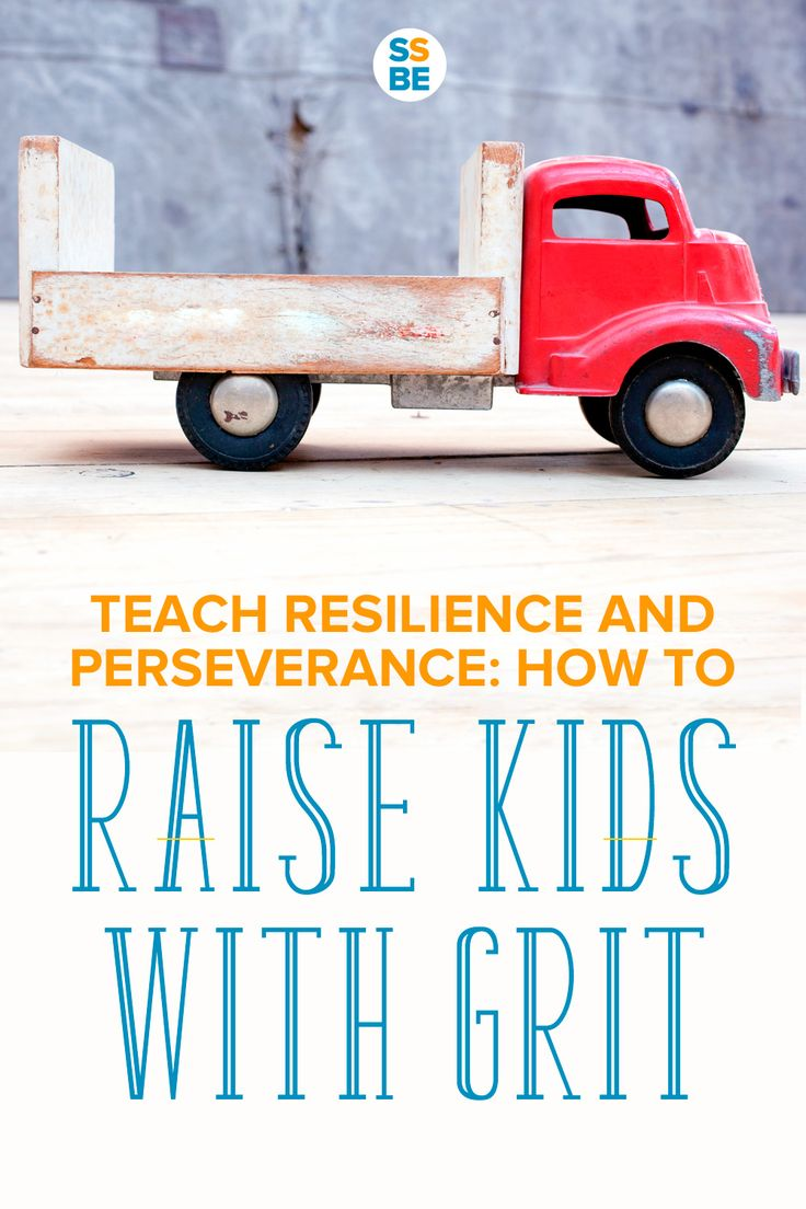 Find out how to raise kids with grit—and increase their chances for success with resilience and perseverance while embracing their mistakes. An important lesson on how to encourage a growth mindset in children.
