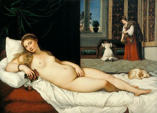 Sensualité. La Venus d'Urbino (Le Titien)