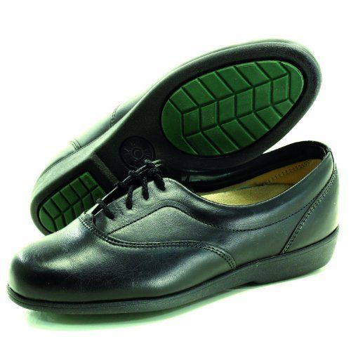 Task Footwear 3851 Womens Black Work Shoe 6 B Task. $19.99