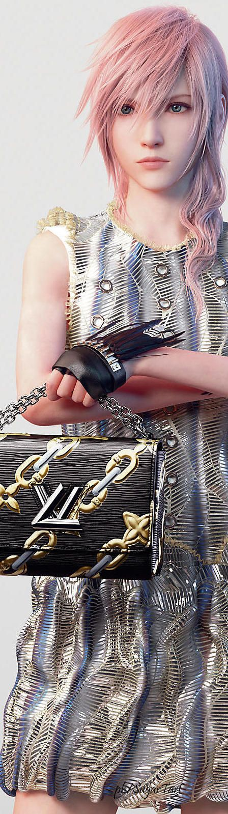 Louis Vuitton S/S 2016 I almost fell over when I saw this in Elle magazine, girls don't use lightning as a roll model for how to look, you will never get on her graphics level unless you install a new HD card