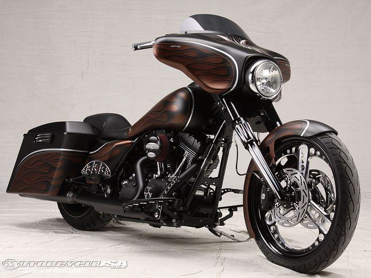 72 Best Bagger Bikes Images On Pinterest Harley Davidson Street