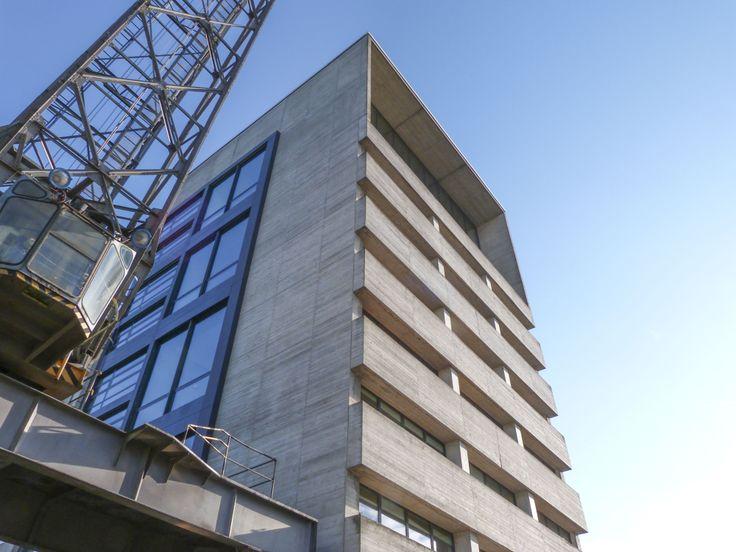 #Duesseldorf #Medienhafen #Kaistrasse Studios #David_Chipperfield  #Architecture #Sky #building #Dusseldorf #Düsseldorf