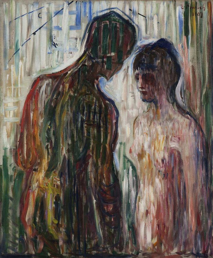 Amor et Psyché, par Edvard Munch
