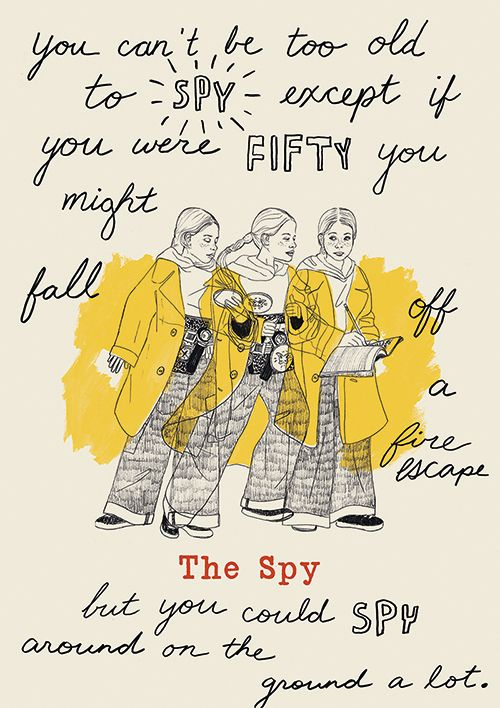 Harriet the Spy - Moving Movie Poster on Behance