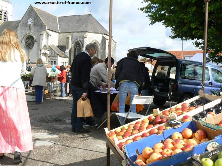 The market in the town of Beaurainville Northern #France