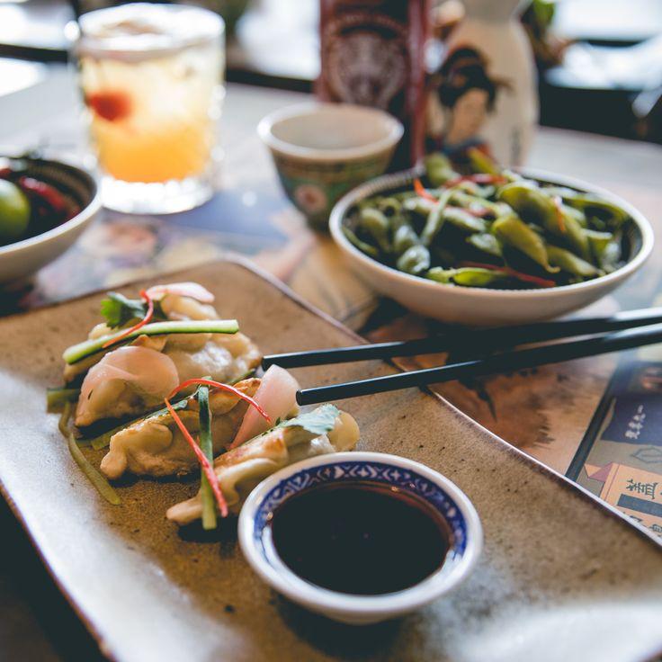 Saigon Suzy Restaurant #PotStickers #Duck #EdamameBeans #StreetFood