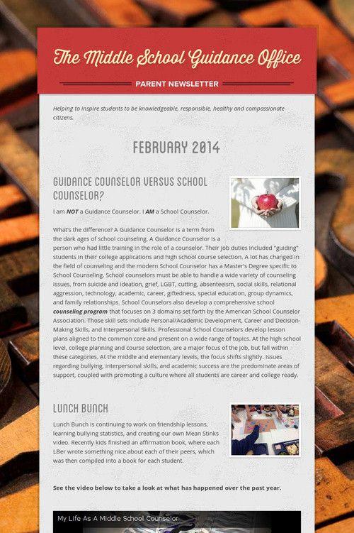 Best 25+ Guidance office ideas on Pinterest Counselor office - office newsletter