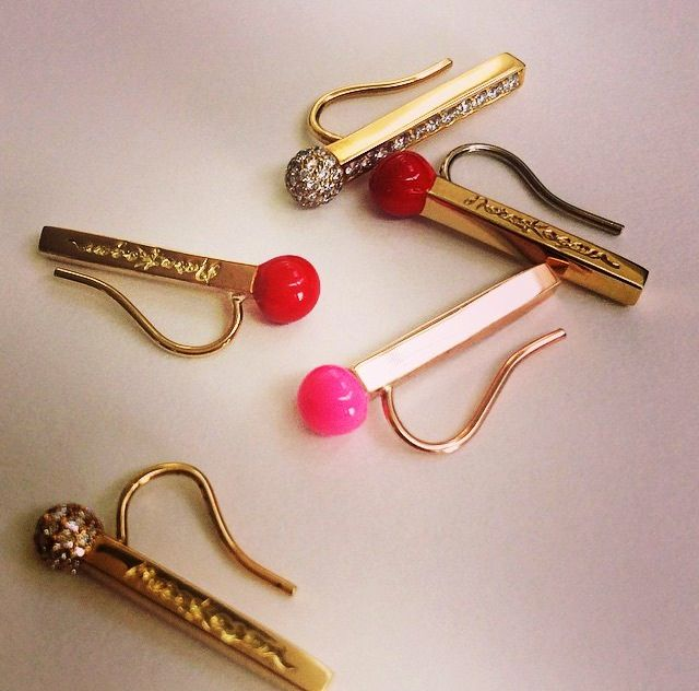 27 best matchstick collection images on pinterest for Minimal art jewelry