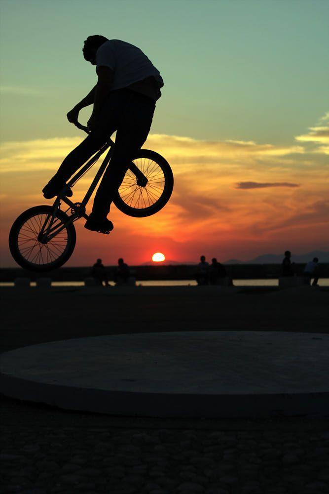 Sundown By Ronny Skevis On 500px Bmx Freestyle Bmx Bicycle Bmx Street