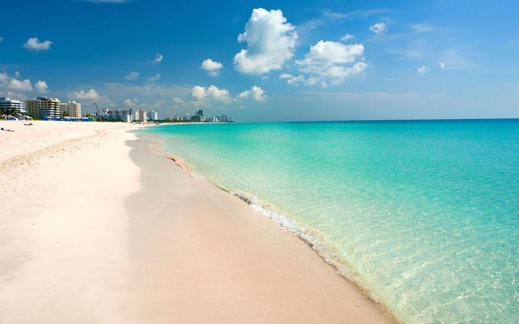Miami South Beach Florida Desktop Wallpaper Hd 1920x1200 : Wallpapers13.com