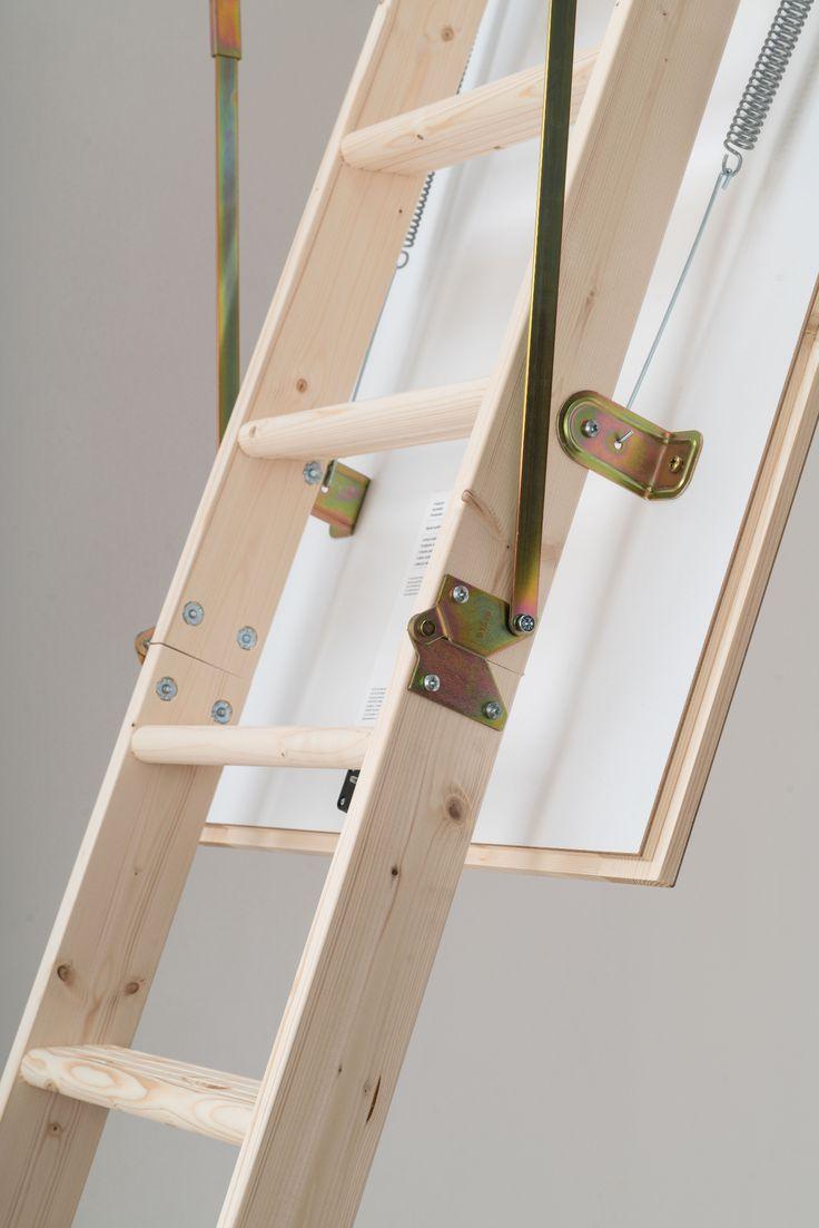 Dolle Hobby Timber Folding Loft Ladder