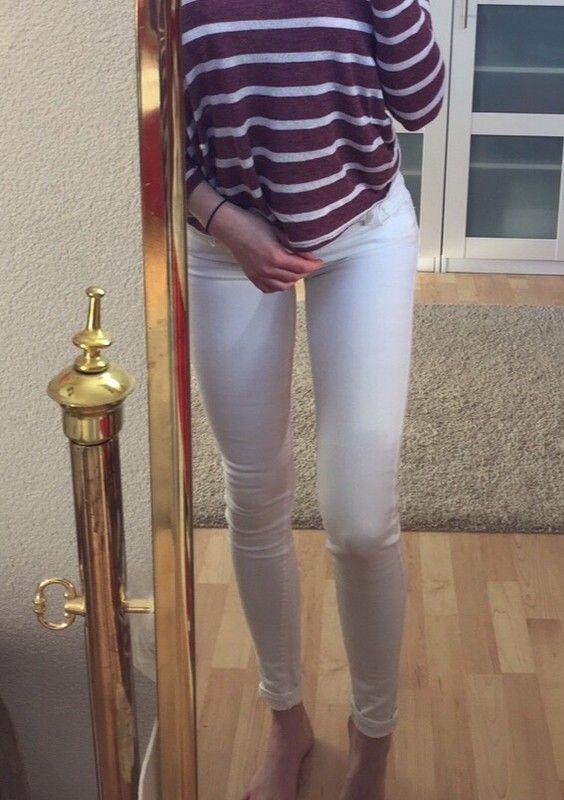 3001d27923 Levi's skinny Jeans Weiß - kleiderkreisel.de | Tightest Jeans Only ...