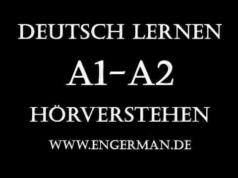 Deutsch für Anfänger German for Beginners A1 Hörverstehen A2 Hörverstehen Hören und Sprechen Folgen Sie uns auf Social Media https://www.youtube.com/LearnGer...