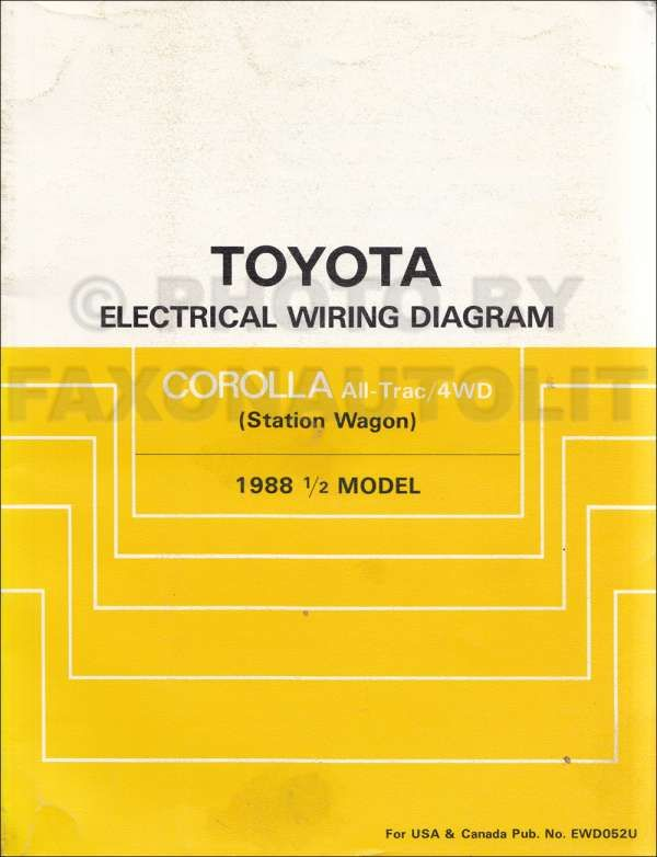 Toyota 4efte Engine Wiring Diagram And Wiring Diagram