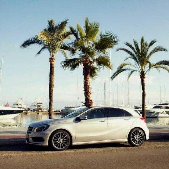 Mercedes Benz , Class A.