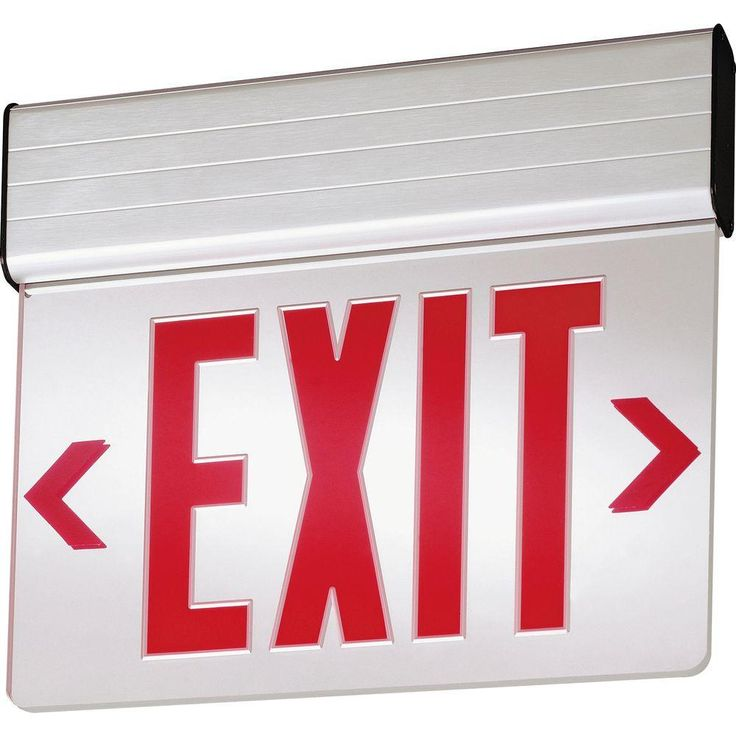 Lithonia Emergency Egress Lighting: 17 Best Ideas About Exit Sign On Pinterest