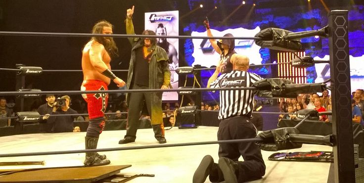 #JamesStorm #Abyss #Manik pledge to the revolution #TNA