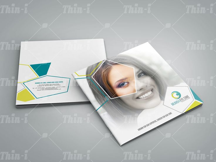 A #brand like #Mumbai #EyeCare,deserves an eye-catching #brochure!