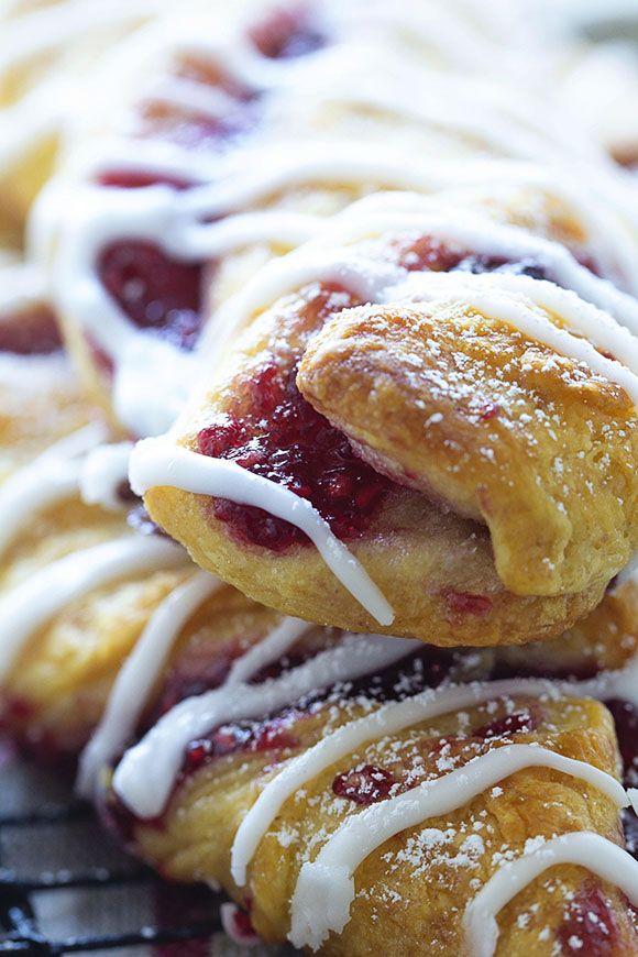 Crescent Roll Raspberry Cinnamon Twist | Raspberry ...